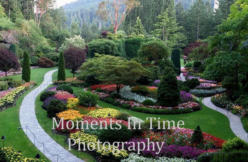 Burchart garden scene