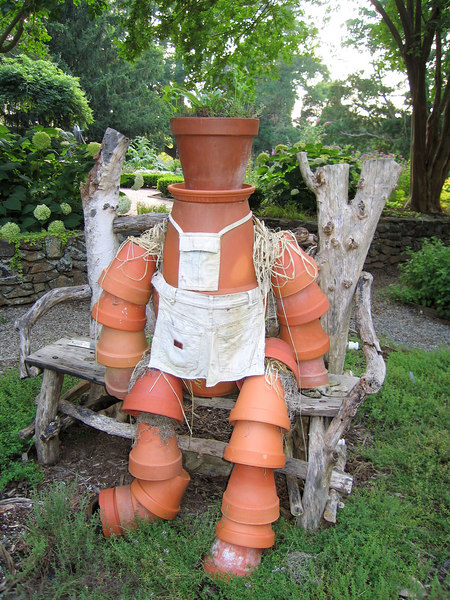 00aFavorite Sculpture of a potted gardener