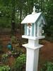Rita Bigham's garden - birdhouse