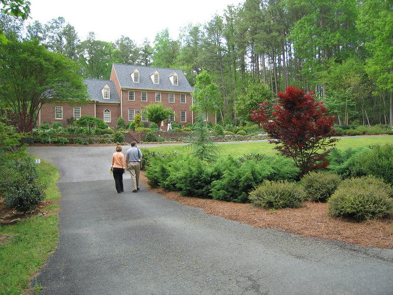 Rita Bigham's garden - driveway