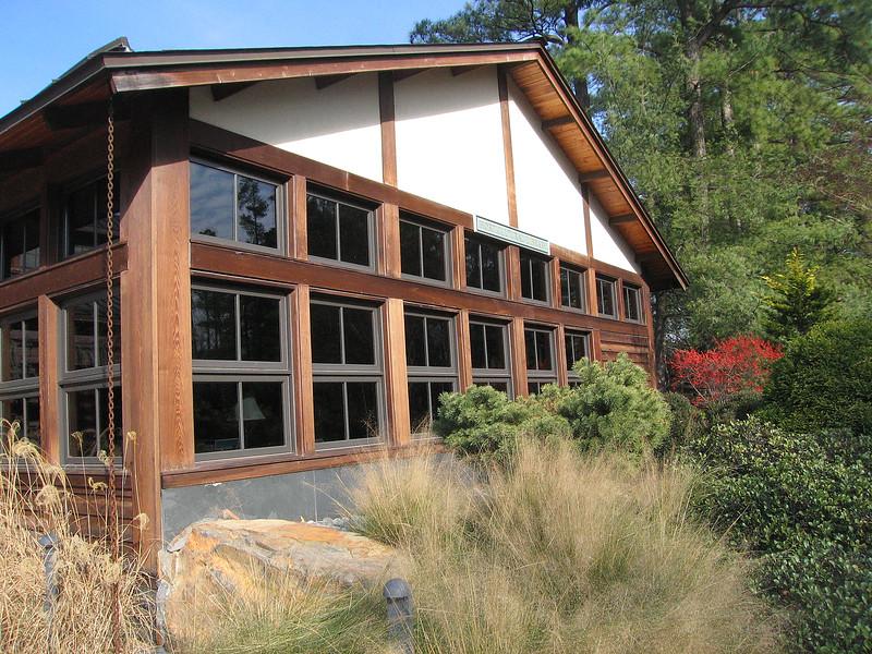 01132006 Outside Horticulture Library Doris Duke Center