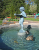 04142005 Cherub fountain with swimming ducks 2