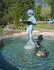 04142005 Cherub fountain with swimming ducks 2