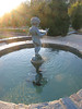 12072006 Cherub fountain backlit and with sun's flare