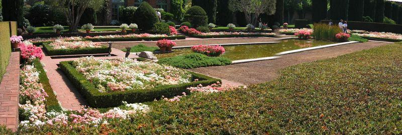 Sunken gardens [panorama]