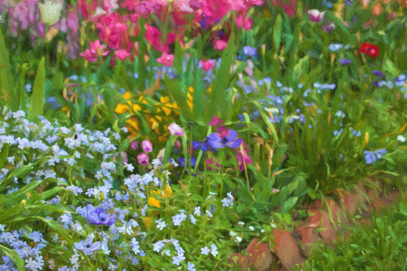 C 04152017 Sisters' Garden, Chapel Hill NC (658p) (garden) [Topaz Impression]