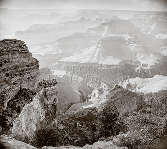 1008.641 Grand Canyon In  Black and White