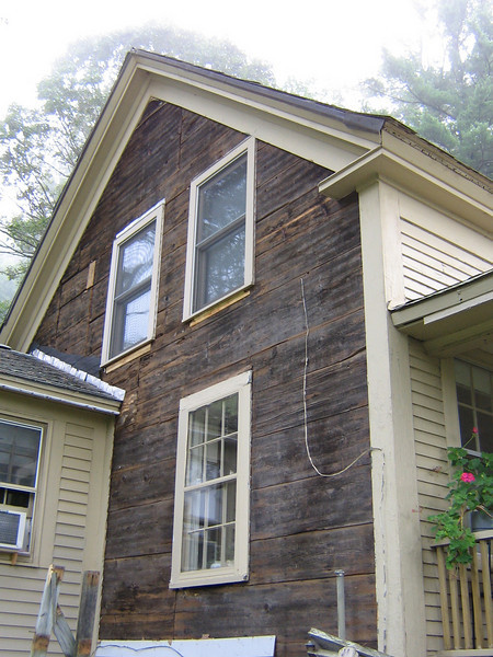 Replaced all clapboards 2007