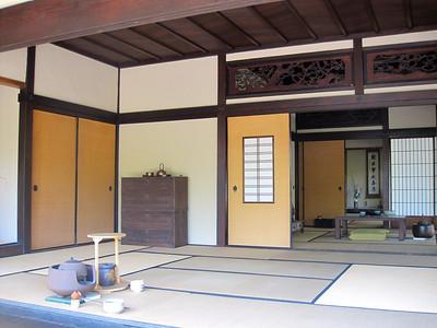 Tea room at Japanese Garden