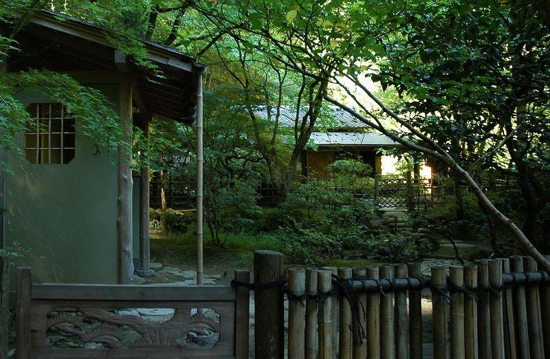 Portland, OR Japanese Garden Tea House