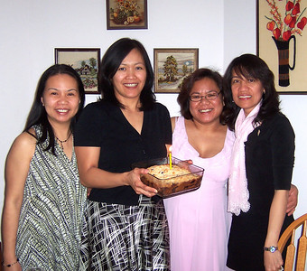 Juday's 40th Birthday at the Stein's (Feb 2009)