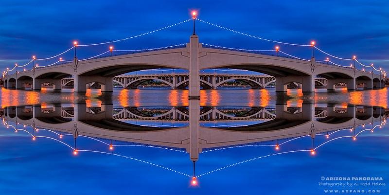Mill Avenue Bridge Kaleidoscope