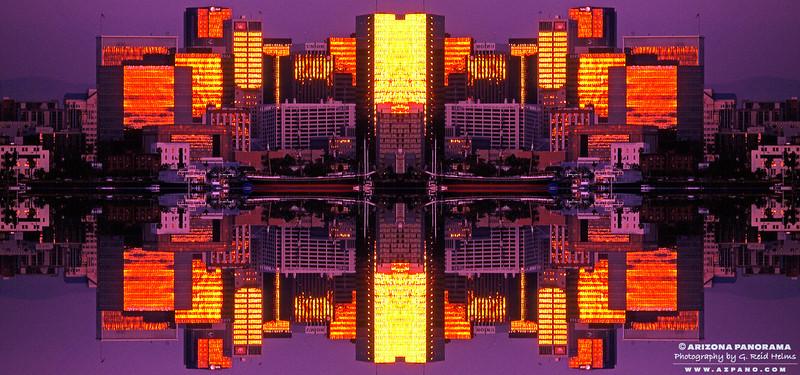 San Diego Skyline Kaleidoscope