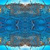 Blue Porch Kaleidoscope