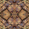 Parker Cliffs Rock Kaleidoscope