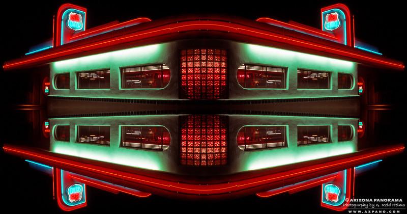 Route 66 Diner Kaleidoscope