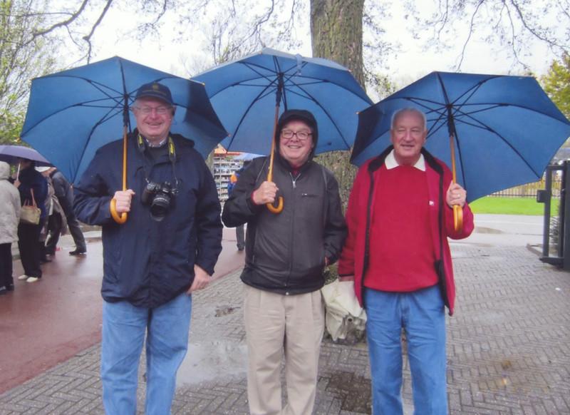 Keukenhof Gardens<br />    Jim, Jack & Ned