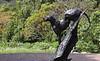Kirstenbosch Botanical Gardens - cheetah statue