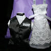 """Behind the vest and """"under"""" the dress is a sachet of lavender :)"""