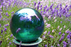 Lavender Gazing Ball