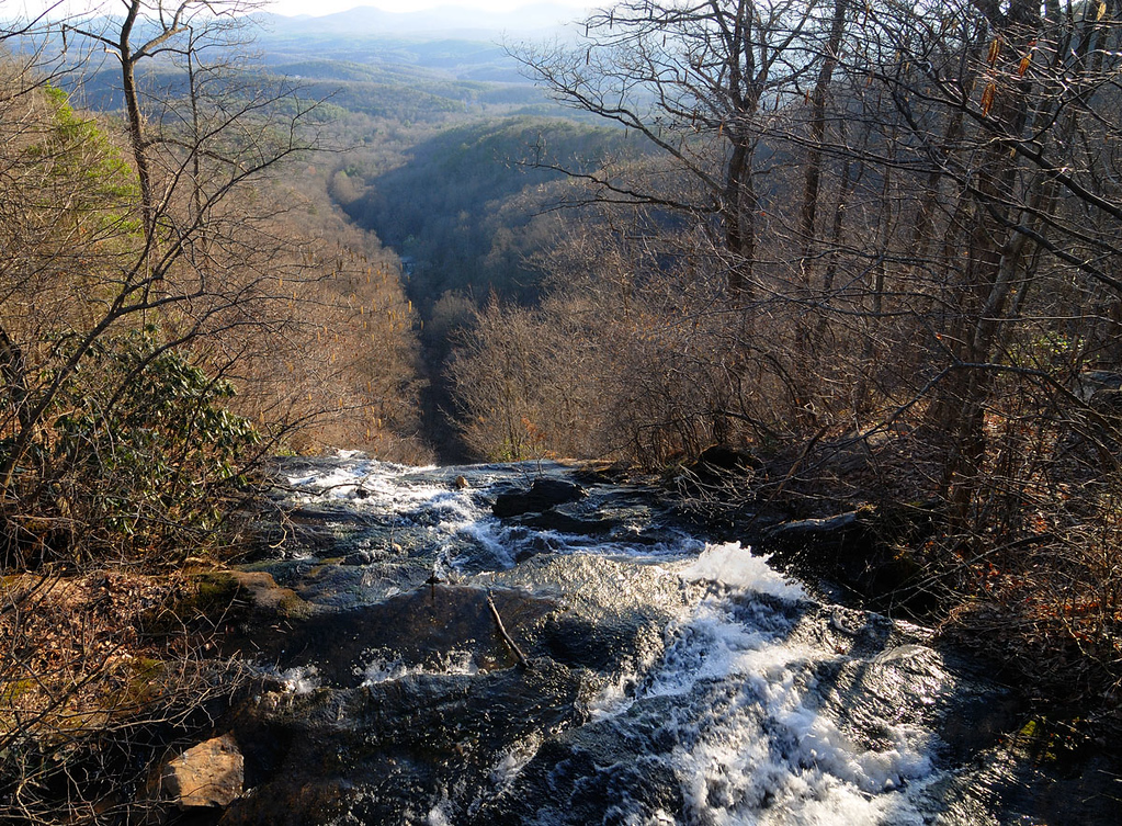Top of Amicalola Falls, GA, 2011