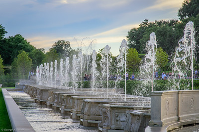Lower canal fountains