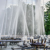 Closed up of main fountain basin