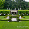 French Formal Garden with Fountains