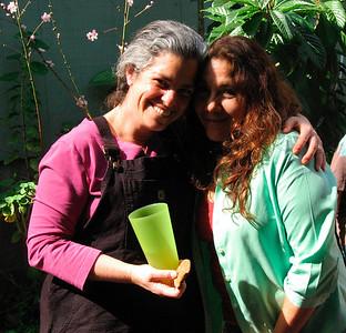 Lynn & Molina, the Mesa Exchange hostess