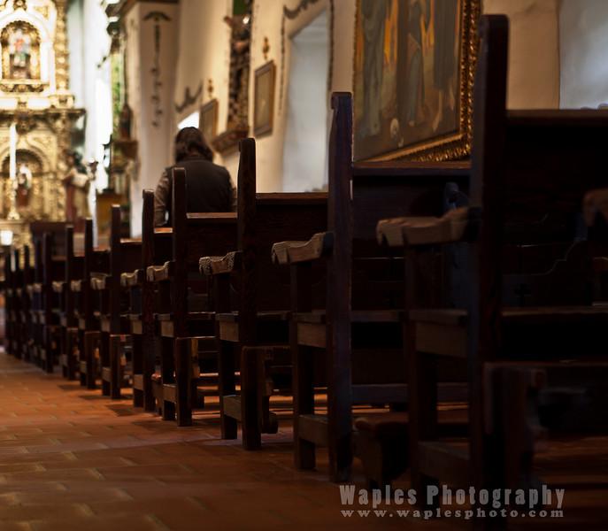 Parishioner at Prayer