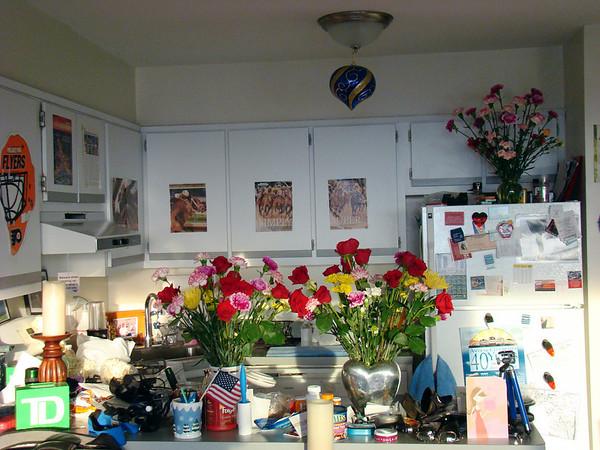 my birthday flowers from Jeff
