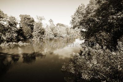Sabine River Near Big Sandy Texas Photograph Fine Art Print 4110.01