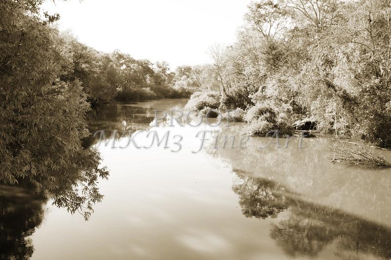 Sabine River Near Big Sandy Texas Photograph Fine Art Print 4106.01