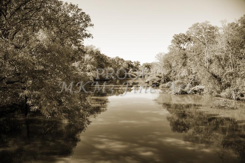 Sabine River Near Big Sandy Texas Photograph Fine Art Print 4089.01