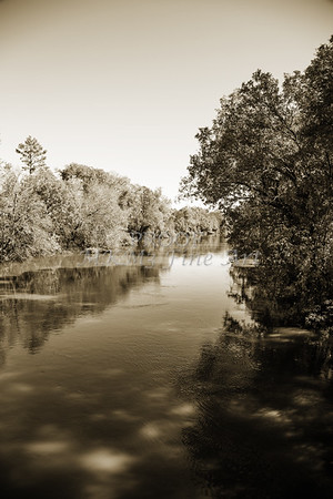 Sabine River Near Big Sandy Texas Photograph Fine Art Print 4095.01