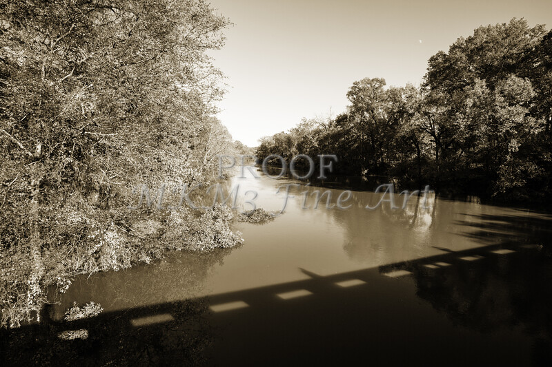 Sabine River Near Big Sandy Texas Photograph Fine Art Print 4112.01