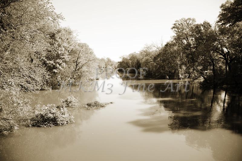 Sabine River Near Big Sandy Texas Photograph Fine Art Print 4086.01