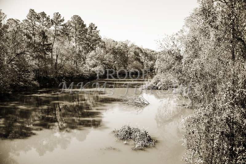 Sabine River Near Big Sandy Texas Photograph Fine Art Print 4081.01