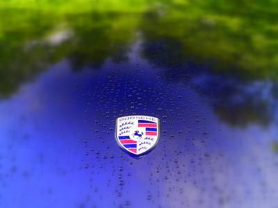 Porsche ME In The Wet