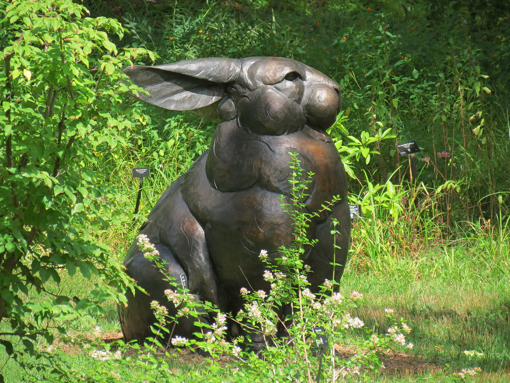 Giant Rabbit Sculpture