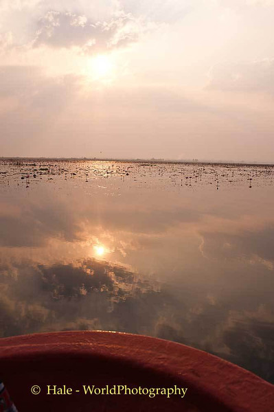 Morning On The Red Lotus Sea (Thale Bua Daeng)
