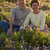 Myra & Rick in the Bluebonnets, League City, TX