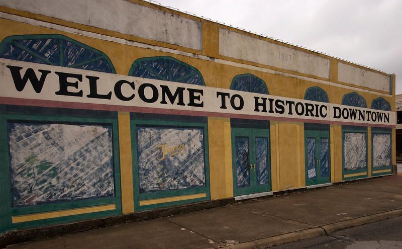 Store facade, Brenham, TX