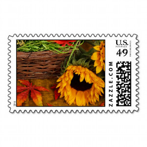 Fall Sunflowers Greetings