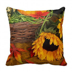 Fall Sunflowers Pillows