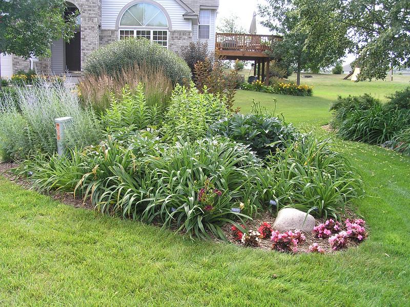 Front garden bed