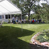 TCRC members gather on a beautiful day in August for the annual picnic, hosted by Tom and Mary Osborn.