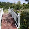 Bridge to the gardens