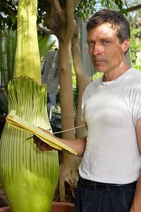 Steven Malehorn, Thut Greenhouse Manager, Eastern Illinois University.