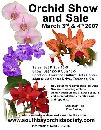 Torrance Cultural Arts Center South Bay Orchid Society 2008